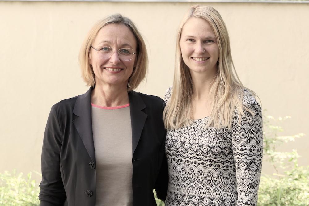 Renate Holubek und Angelika Fuerst